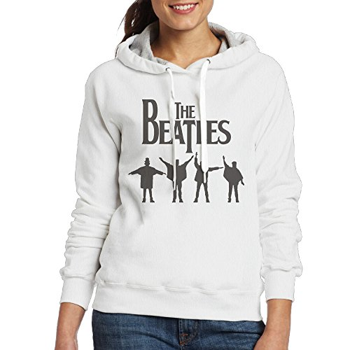Lightweight 80's Juniors Woman The Beatles Logo X-Large Hoodies
