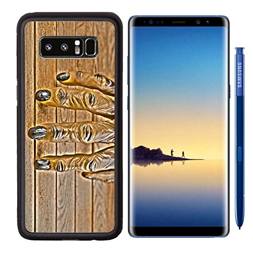 Liili Premium Samsung Galaxy Note8 Aluminum Backplate Bumper Snap Case IMAGE ID: 22991157 Werewolf hand for Halloween HDR (Halloween Effects Reviews)