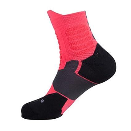 Calcetines de sudor Calcetines de baloncesto profesional Calcetines antideslizantes antideslizantes calcetines gruesos de toalla elite calcetines