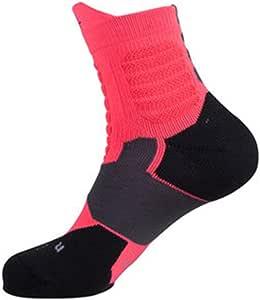 Calcetines de sudor Calcetines de baloncesto profesional Calcetines antideslizantes antideslizantes calcetines gruesos de toalla elite calcetines altos y altos para ayudar a calcetines deportivos