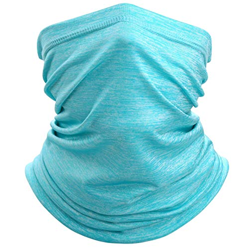 ZCPlus 4 PCS Balaclava for Face Shield Mask Dust Wind UV Sun Protection Neck Gaiter Headwear Bandana Outdoor Face Mask for Women Men Face Scarf