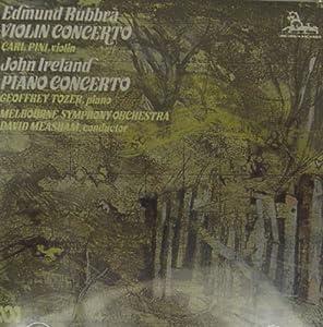 Edmund Rubbra Carl Pini Violin John Ireland Geoffrey