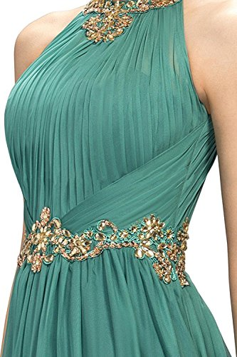 Jeweled Abschlussball AbendKleid Blau mit Beyonddress Langes Navy Damen Wulstiges Goldgürtel q1wn7pT