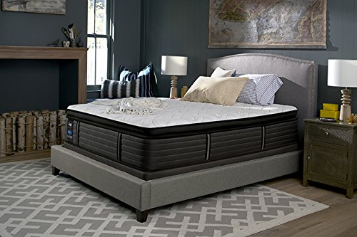 Cal King Sealy Posturepedic Response Premium Barrett Court IV Cushion Firm Pillow Top Mattress Sealy Posturepedic California King