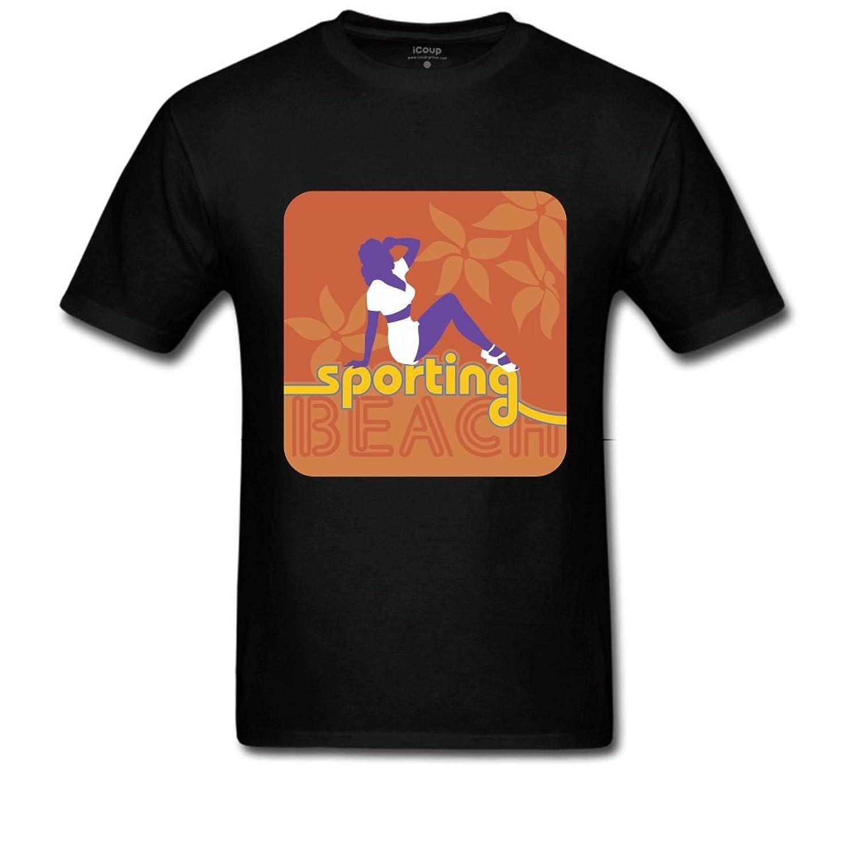 Sporting Men's Crewneck T Shirt XL Black