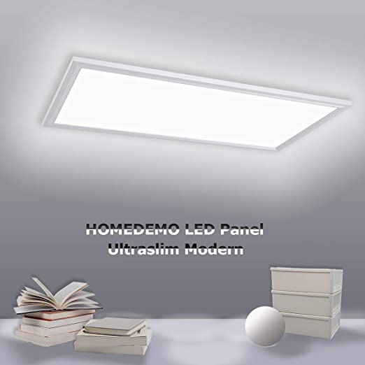 Ultraslim LED Bürolampe Deckenlampe Panel Büro Licht Deckenleuchte Arbeitzimmer
