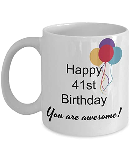 Image Unavailable Not Available For Color 41st Birthday Gifts Women