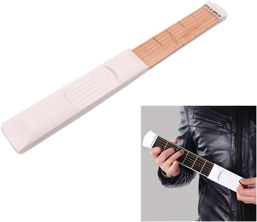 ETbotu Guitarra de bolsillo, herramienta de entrenamiento portátil ...