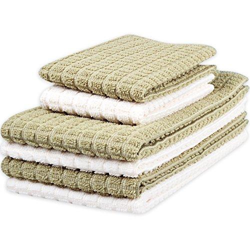 Kleanner Microfiber Kitchen Towels Absorbent