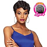 Outre Synthetic Hair Full Cap Quick Weave Complete Cap Perfect Extreme Side Deep Lace Part Betty (1B)