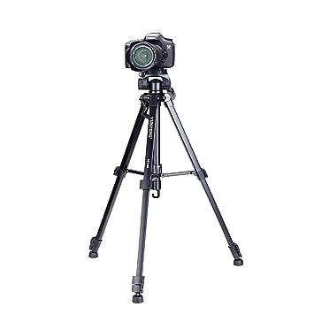 10 kg profesional cámara trípode con Quick Release Plate Rótula Stand portátil trípode para vídeo teléfono