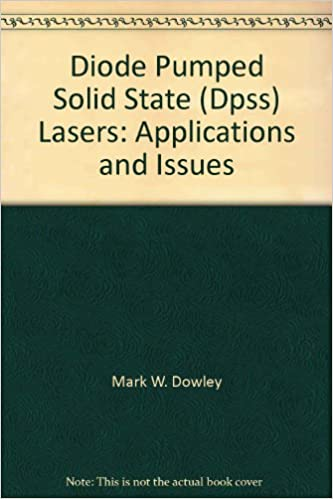 Diode pumped solid state (DPSS) lasers: Applications and