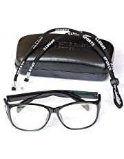 HealthGoodsIn - Radiation Protection Lead Eye Glasses | X-ray Radiation Protection Glasses | Radiation Safety Glasses with Permanent Side Shields