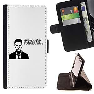 Jordan Colourful Shop - buy thing we need money have quote For Apple Iphone 6 - < Leather Case Absorci????n cubierta de la caja de alto impacto > -