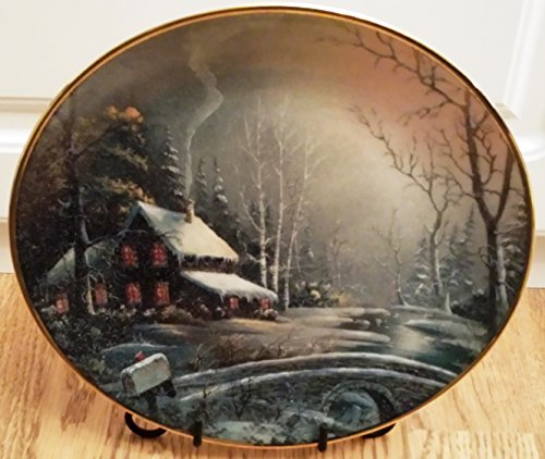 Franklin Mint Winter Watch Ron Huff collector plate - CP1861 -  5055382612124