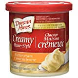 Duncan Hines Creamy Home-Style Frosting, Buttercream, 450g