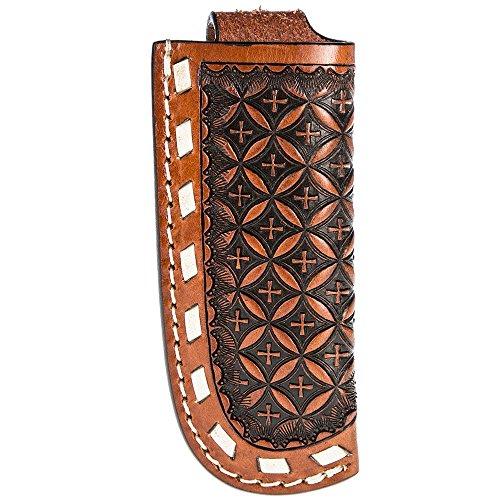 Western Fashion Tack/Snowflake Knife Sheath Cognac