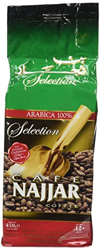 Cafe Najjar Classic with Cardamom Turkish-style ground coffee 450g (1 lbs) (Lebanon)