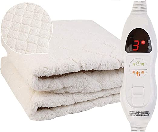 Amazon.com: Red Twin Size Heated Mattress Pad W/ 2 Heat Settings