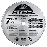Malco MCCB7 7 1/4-Inch 56 Tooth Metal Cutting Saw Blade for Standing Seam Roof Panels