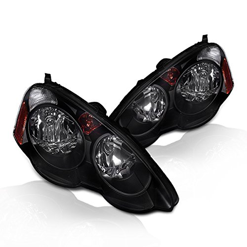 Instyleparts Acura RSX DC5 Clear Lens Headlights with Black Housing 2004 Acura Rsx Base