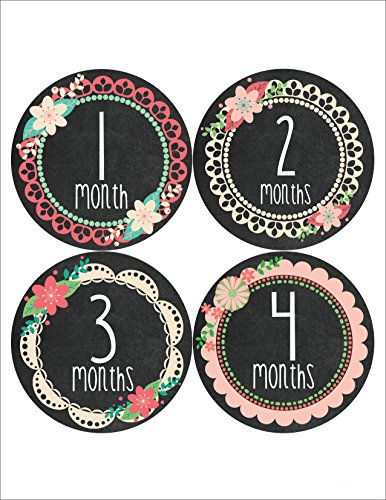 Months Motion 352 Monthly Stickers