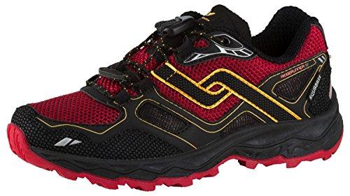 PRO TOUCH Trail-Running-Schuh Ridgerunner IV AQB, schwarz/rot/orange,35