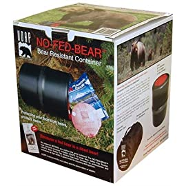 NO-FED-BEAR Bear Resistant Canister by UDAP 33 Quality and safety tested for even the toughest environments Protect yourself and your family with quality udap products Must need tool for all campers and outdoor enthusiasts