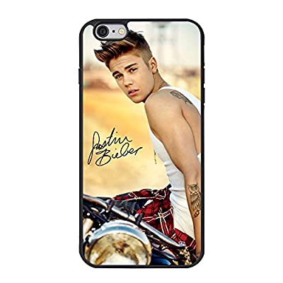 "Justin Bieber iPhone 6 plus Case,Justin Bieber Cell Phone Case for iPhone 6 plus/6s plus 5.5"" TPU Case"