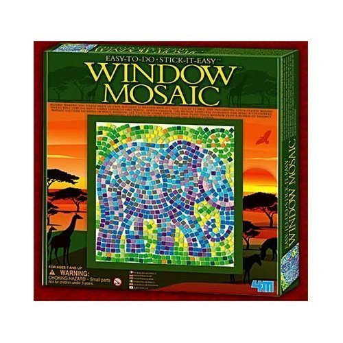 Elephant Window Mosaic Kit