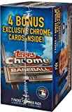 2017 Topps Chrome MLB Baseball Series Unopened Blaster Box with a Chance for Aaron Judge Rookies and Refractor Cards