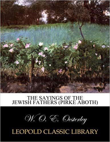 Book The sayings of the Jewish fathers (Pirke Aboth)