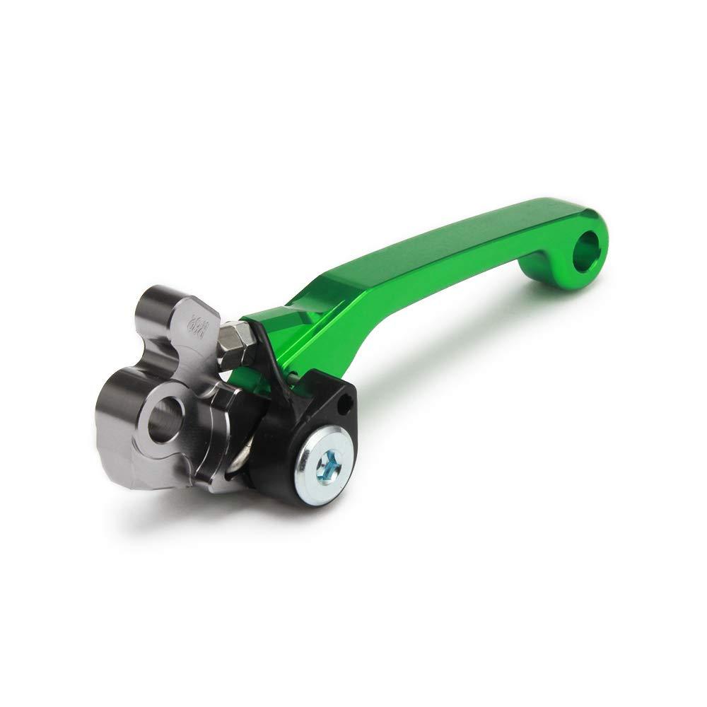 Juego de palancas de Freno de Motocicleta KX65 KX85 KX125 KX250 KX250F Color Verde