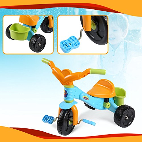 Virhuck Kids First Ride Trikes for Kids Toddlers Children Tricycle 3 Wheel Pedal Bike for 1 2 3 4 Years Old Kids Boys Girls, Multi-Coloured, Maximum Weight 30 KG by Virhuck (Image #3)