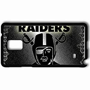 Personalized Samsung Note 4 Cell phone Case/Cover Skin 1607 oakland raiders 0 Black by mcsharks