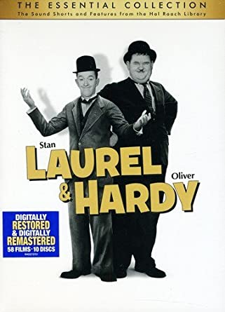 Amazon com: Laurel & Hardy: The Essential Collection: Stan