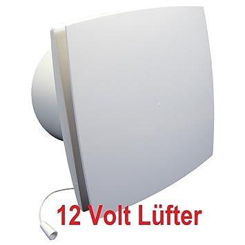 Badlüfter 12V,Lüfter,Kleinlüfter,Ventilator,WC-Lüfter,Belüftung ...