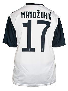 Camiseta Jersey Futbol Juventus Mandzukic Replica Oficial Autorizado 2018- 2019 Niños (2,4