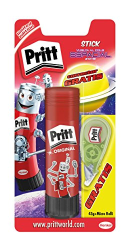 Pritt 43g Adhesive 1137330-Bar and Corrector Micro Rolli