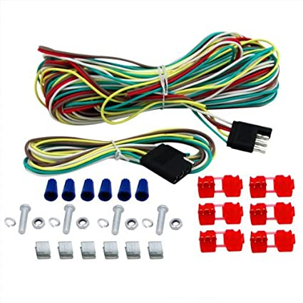 Fantastic Amazon Com 4 Way Trailer Wiring Connection Kit Tow Light Extension Wiring Cloud Hisonuggs Outletorg