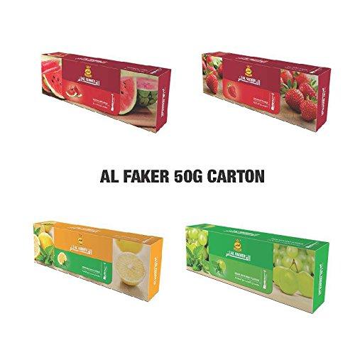 Al Fakher ( VARIETY PACK///4 FLAVORS ) 50g ...4 PACK// ( Total 2Kg )