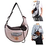 UniM Pet Carrier Dog Cat Small Puppy Shoulder Bag Travel Tote Hands Free