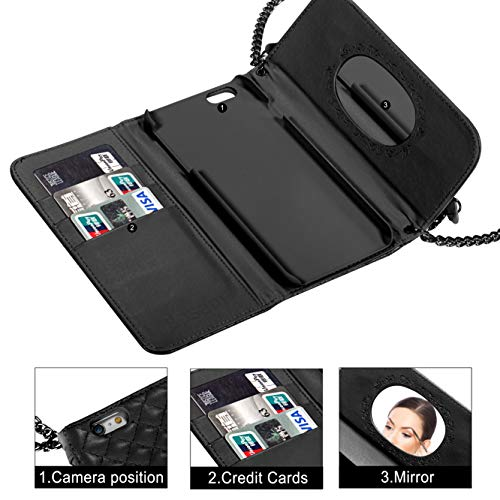 16610ac85769 Bosam Iphone 6 Plus Iphone 6s Plus Crossbody Wallet Case with ...