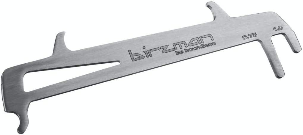 Birzman Unisex's Chain Wear Indicator Tools, Silver, One Size