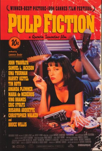 movie posters pulp fiction