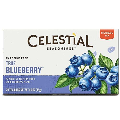 Celestial Seasonings True Blueberry Herbal Tea, 20 Count (Pack of 30) by Celestial Seasonings