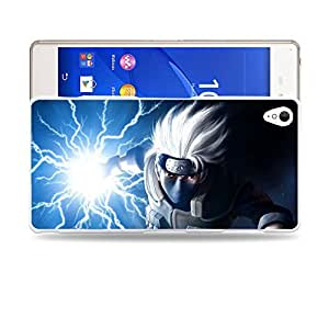 Case88 Designs Hatake Kakashi Shippuden Protective Snap-on Hard Back Case Cover for Sony Xperia Z3