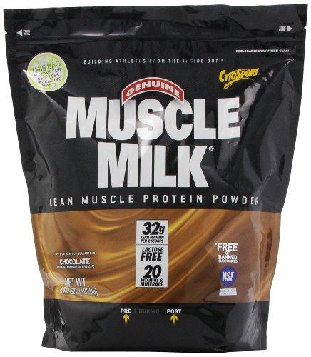 Muscle protéines de lait en poudre, chocolat, 4,01 Pound