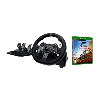 Logitech G920 Driving Force Racing Wheel and Pedals (Xbox One & PC