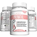 Prenatal Vitamins One a Day Supplement High in Folic Acid - Balanced Multivitamin with Calcium, Iron, Vitamin B Complex Boosts Energy, Easy on Stomach for Breastfeeding Mothers and Pregnant Women